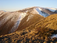 Mount Hotham at sunset, Victoria
