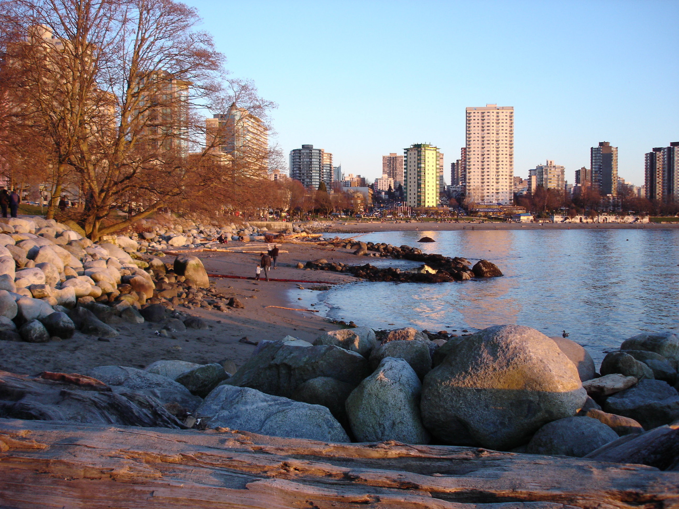 English bay at sunset, Vancouver